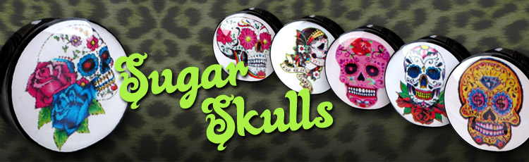 Mexican Skull Plugs