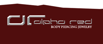 Piercing | alpha red