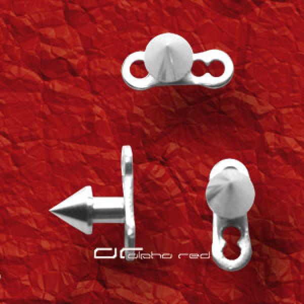 piercing alpha red dermal anchor piercing komplett. Black Bedroom Furniture Sets. Home Design Ideas