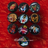 »»» 10er SET TATTOO ACRYL SADDLE PLUG 8590