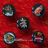 »»» 5er SET TATTOO ACRYL SADDLE PLUG 8595